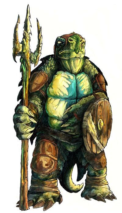 [DUNGEON - C] Turtle Island Tortle-by-caramitten-on-Deviant-Art