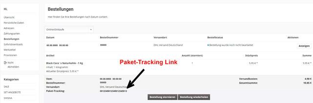 Paket-Tracking-Link
