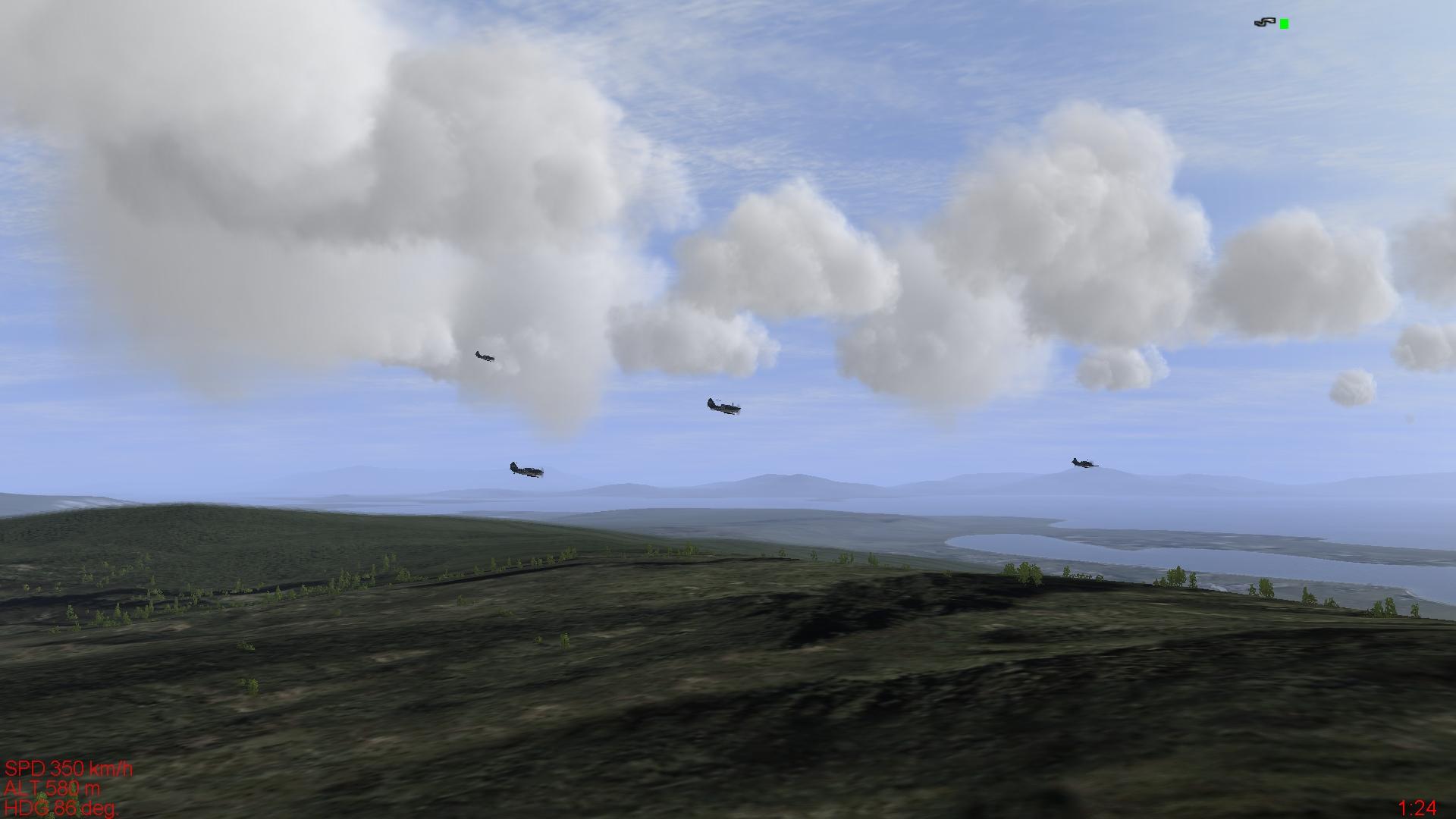 Volando-en-formacion