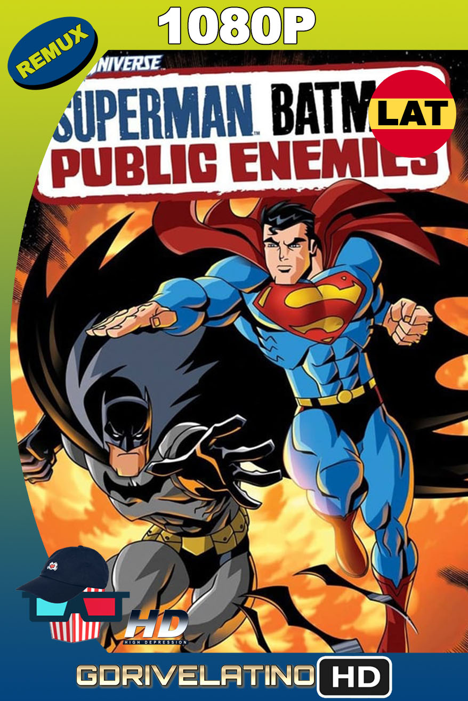 Superman/Batman: Enemigos Públicos (2009) BDRemux 1080p Latino-Inglés MKV