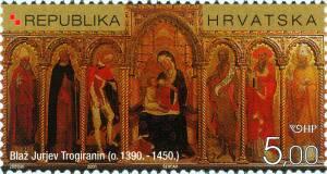 2000. year ZNAMENITI-HRVATI-550-OBLJETNICA-SMRTI-BLA-A-JURJEVA-TROGIRANINA