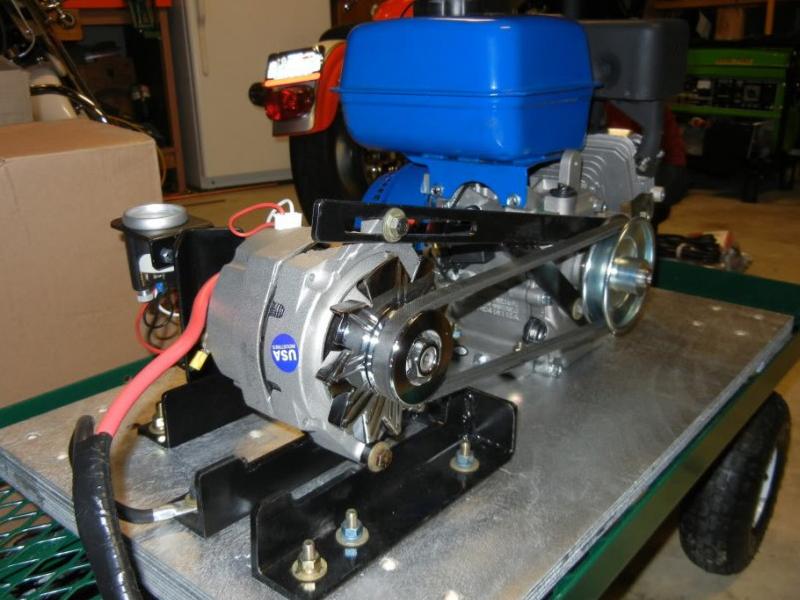 Самодельный генератор для гаража, мастерской или дачи