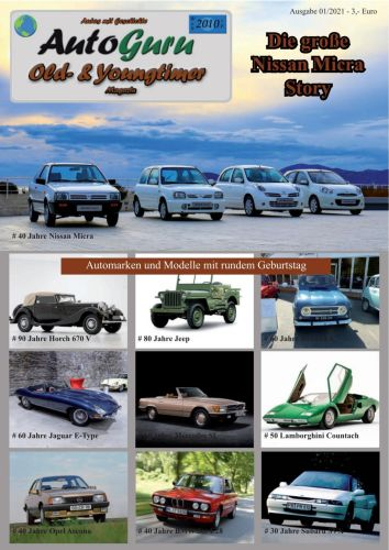 Cover: Autoguru at Old- und Youngtimer No 01 2021