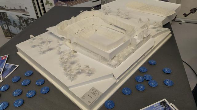 « Arena Futuroscope » grande salle de spectacles et de sports · 2022 - Page 9 Maquette-impression-3-D