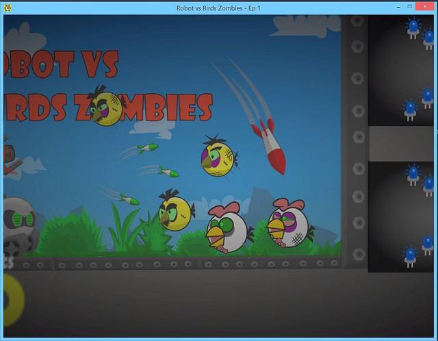 Robot-vs-Birds-Zombies