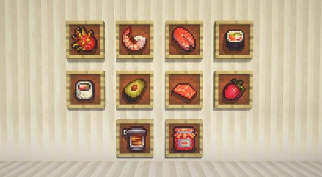 More Food Mod | Sushi Edition Minecraft Mod