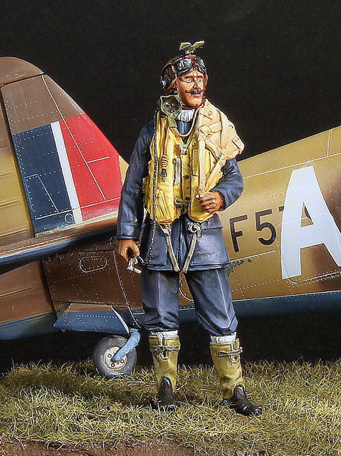 RCAF pilot, 417 Sq Marcianise Italy, janv 1944 IMG-3399-001