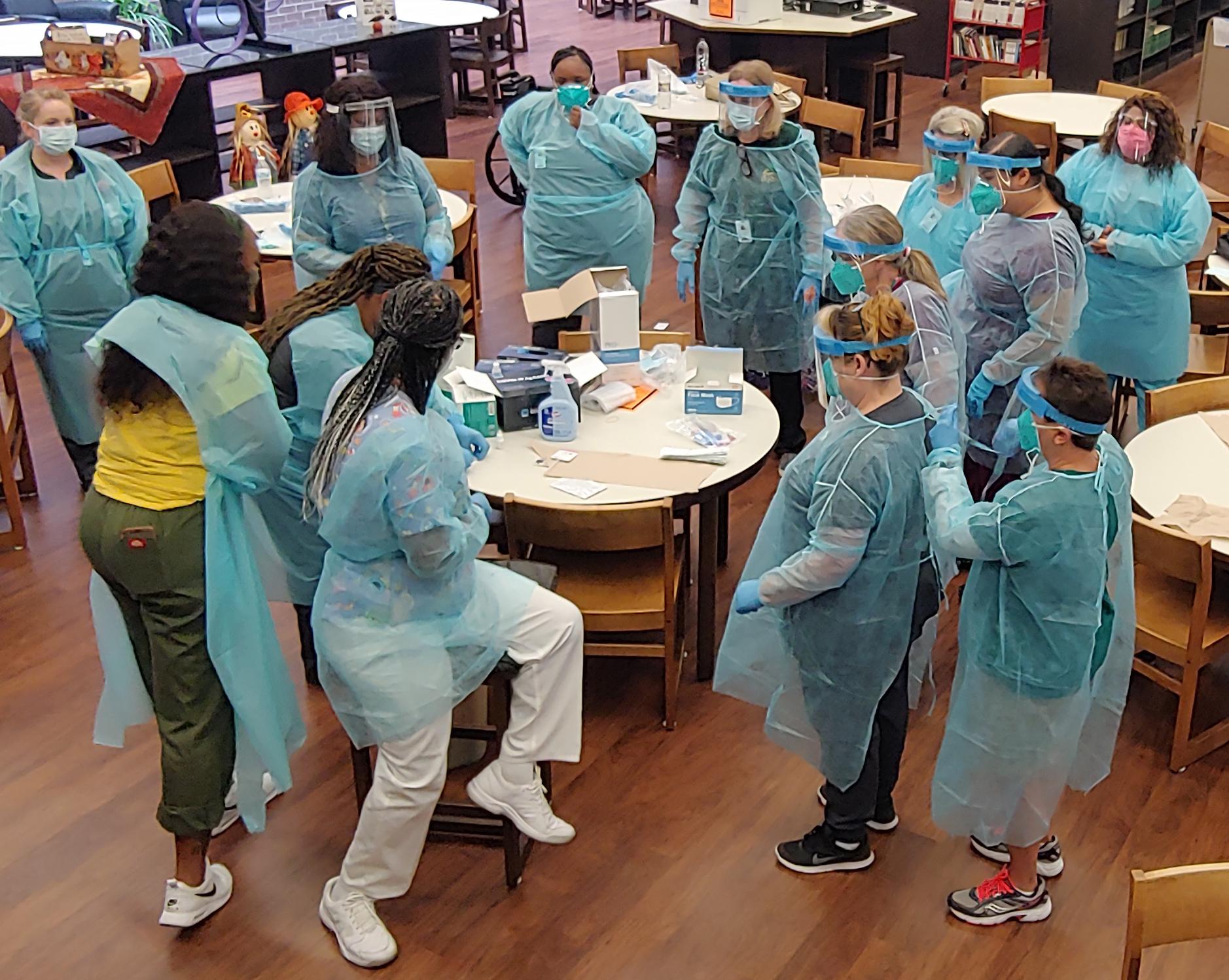 10202020-LISD-nurses-training-COVID-testing-4