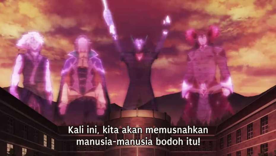 Maou Gakuin no Futekigousha Episode 12 Subtitle Indonesia