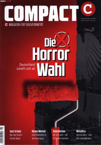 Cover: Compact Magazin für Souveränität Heft No 10 2021