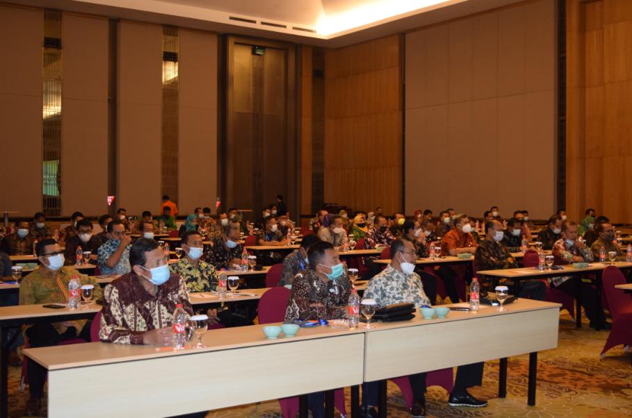Ketua Pengadilan Tinggi Agama Surabaya membuka Pelaksanaan Bimbingan Teknis Kompetensi Tenaga Tehnis Peradilan Agama Bidang Sita dan Eksekusi.