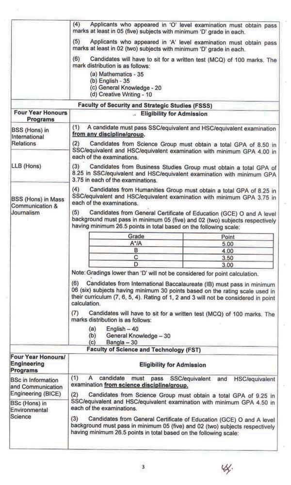 BUP Admission Result 2021- www.bup.edu.bd Result PDF 3