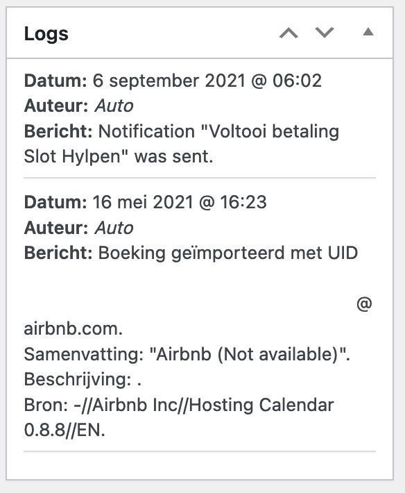 Payment request on Airbnb buffer