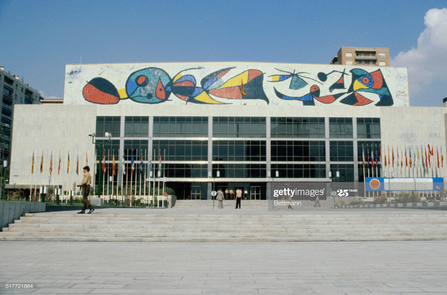 A-mural-by-87-year-old-Spanish-painter-and-sculptor-Joan-Miro-graces-the-front-of-the-Palace-of-Cong.jpg