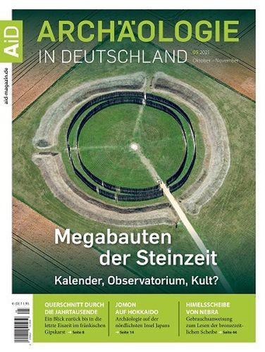 Cover: Archäologie In Deutschland Magazin No 05 Oktober-November 2021