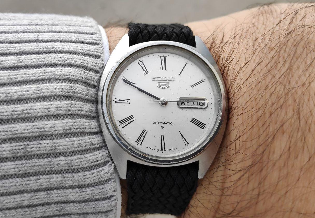 Relógio do Dia Seiko3