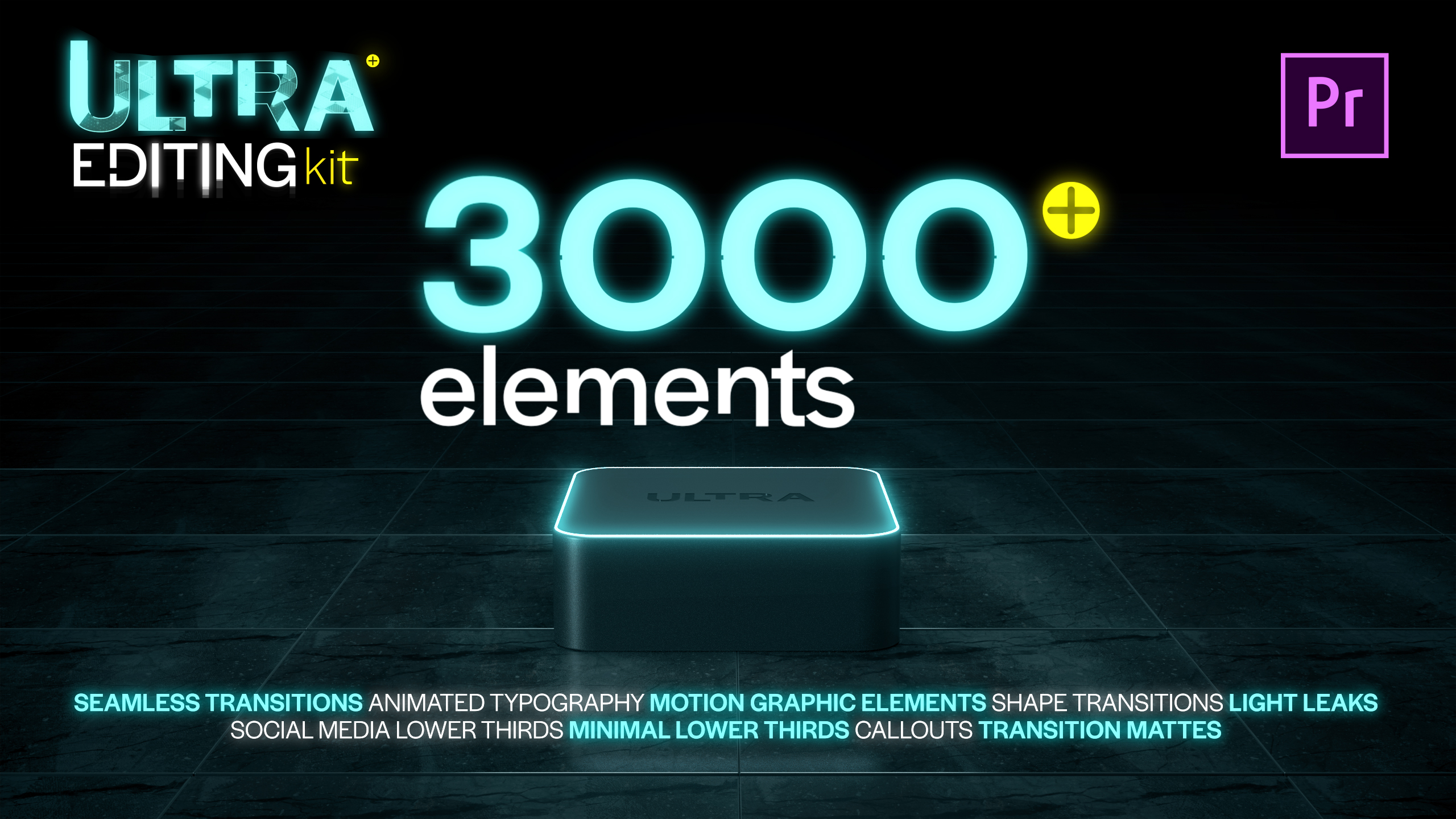 Ultra Color | LUTs pack for Any Software - 3
