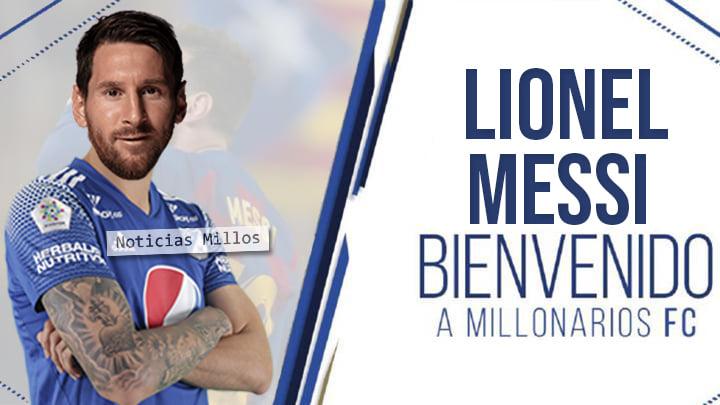Messi Millonarios