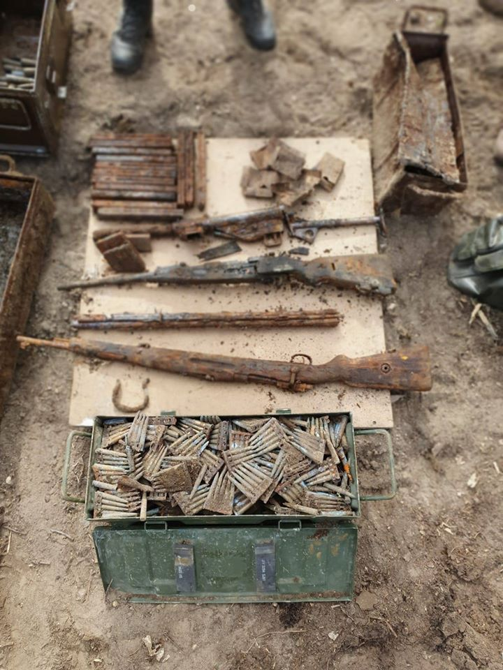 World War II Weapon Box Found in the Netherlands