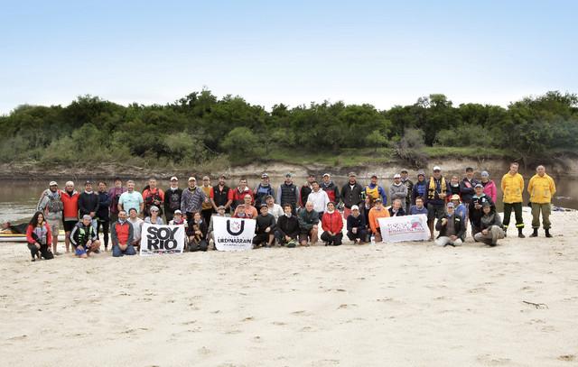 Más de 50 embarcaciones participaron de la Travesía del Corredor Río Gualeguay
