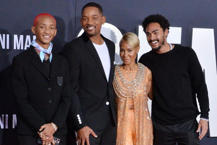 Will Smith's Wife and children