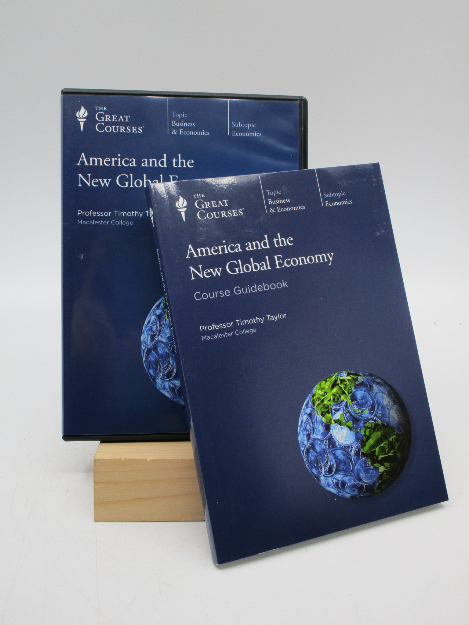 Image for America and the New Global Economy (DVD and book)