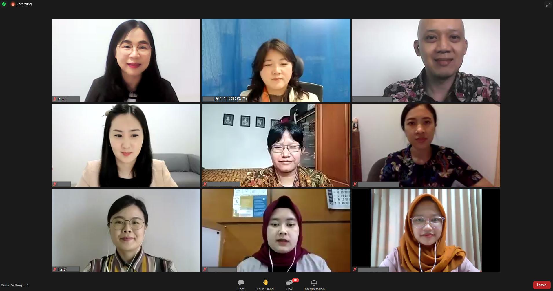 Konferensi Pendidik Bahasa Korea di Indonesia