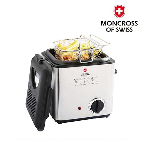[코드번호:DG0014]G[MONCO WITZELND] 스위스몽크로스 미니 튀김기 0.9L_EDF-