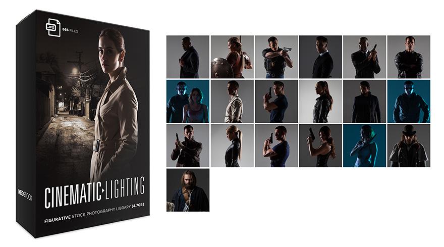 Cinematic Lighting Product Splash