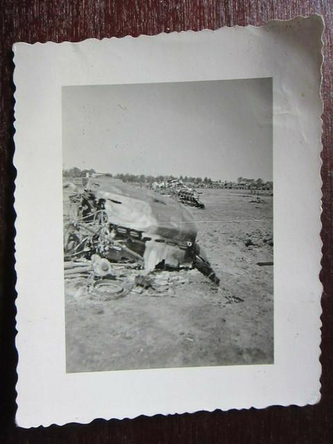Original-WWII-German-Soldiers-View-of-Wreckage-on
