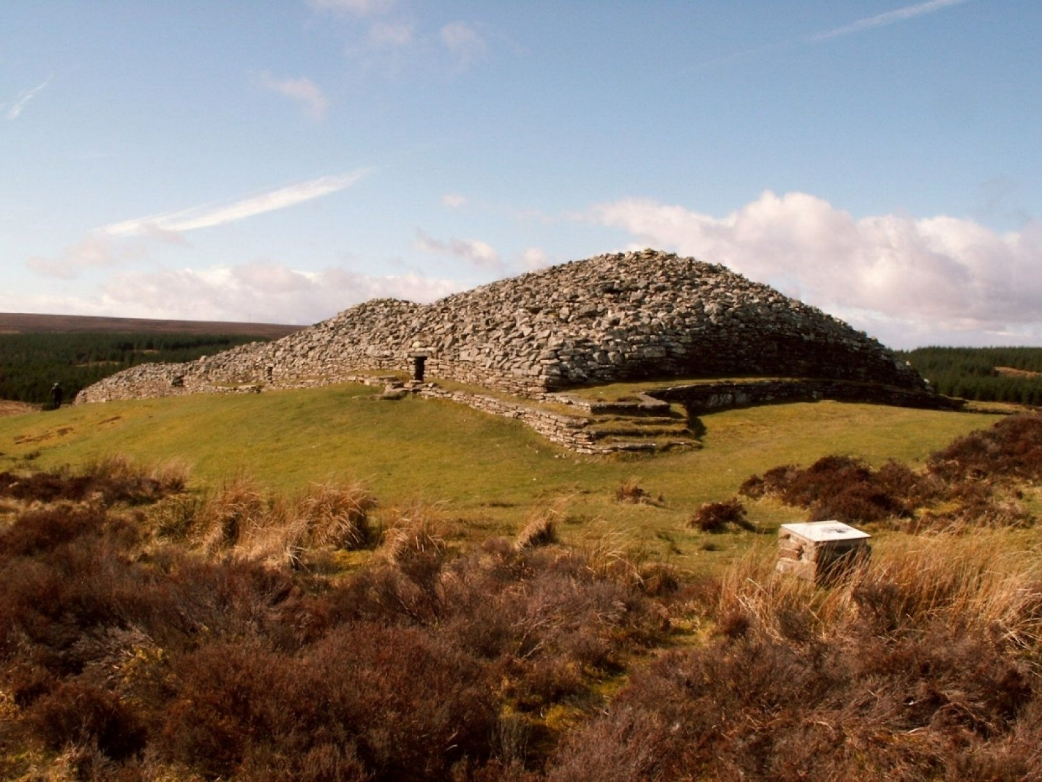 Grey Cairns of Camster, burial ground