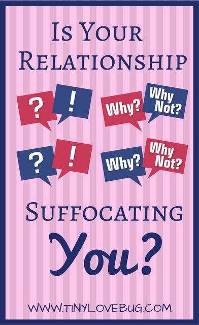 Is Your Relationship Suffocating You