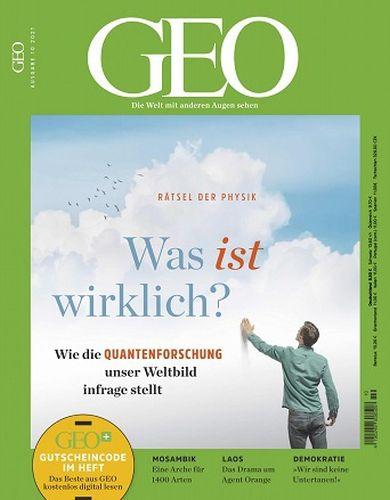 Cover: Geo Magazin Die Welt mit anderen Augen sehen No 10 Oktober 2021