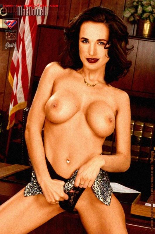 Andie MacDowell pussy selfie naked pics