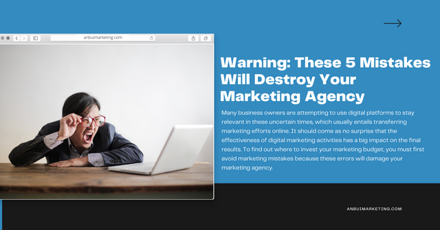 Warning: 5 Mistakes Will Destroy Your Marketing Agency with An Bui