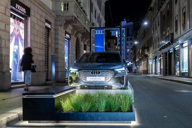 L'Audi A6 e-tron concept à la Milan Design Week A216466-medium
