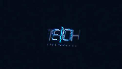 Tech Logo Reveal 32935871 - Project for After Effects (Videohive)