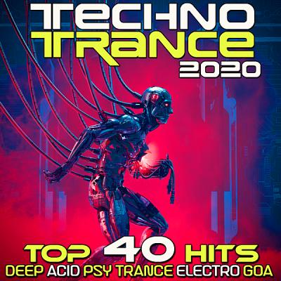 VA - Techno Trance 2020 Top 40 Hits Deep Acid Psy Trance Electro Goa [MP3|320 Kbps]