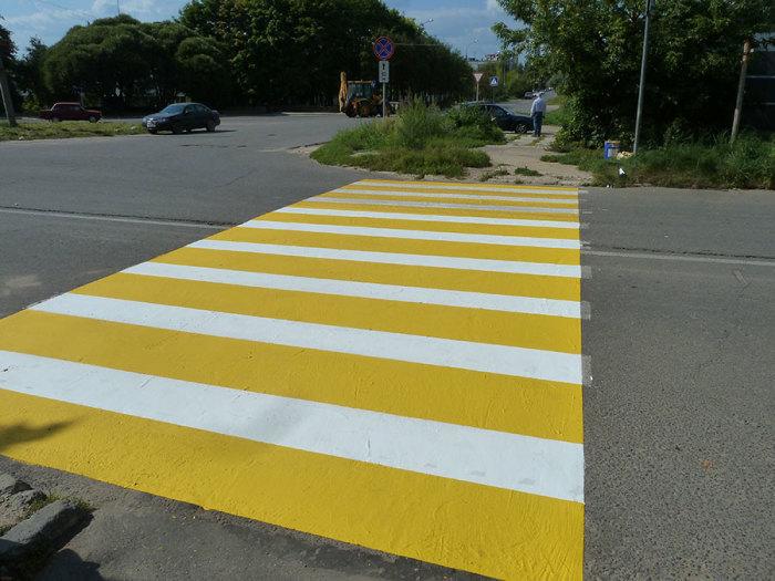 Зачем нужна желтая разметка на дорогах