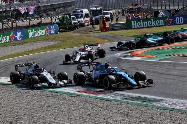 Alpine poursuit sa série d'entrées dans les points avec un double top dix à Monza Grand-Prix-d-Italie-2021-Alpine-A521-N31-Esteban-OCON-10
