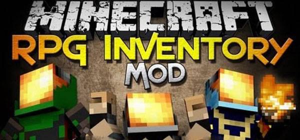 Rpg Inventory Mod для Minecraft 1.12.2 (EN/RU)