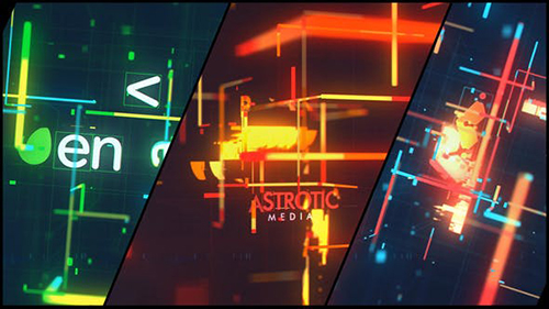 Retro Technology Glitch Logo 32583566 - Project for After Effects (Videohive)