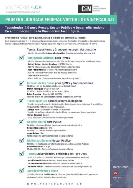 CRONOGRAMA-DIA-DE-LA-VINCULACION-TECNOLOGICA-ARGENTINA-2021