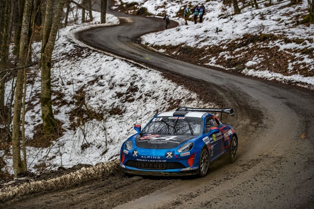 Alpine réussit son retour au Monte-Carlo 2021-Rallye-de-Monte-Carlo-3