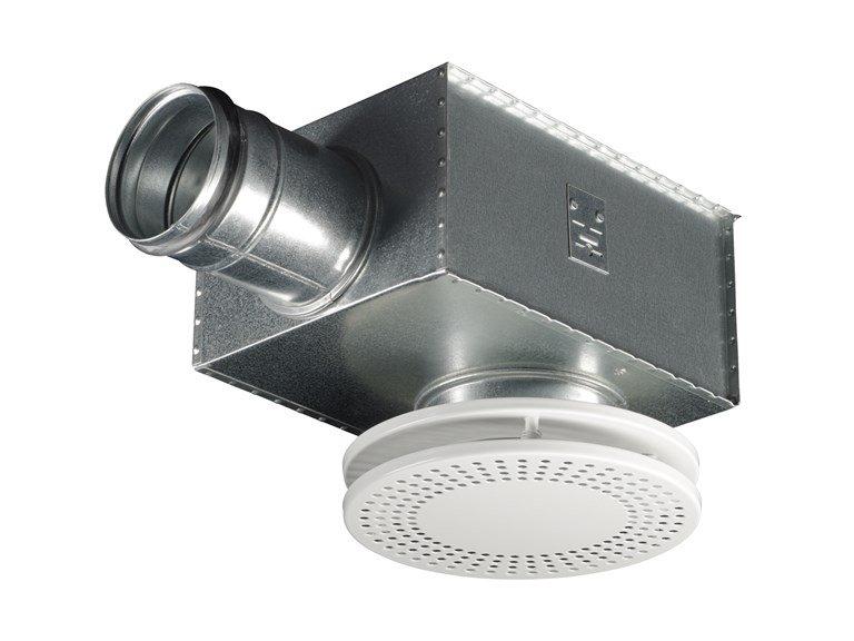 Круглый потолочный перфорированный диффузор CDD