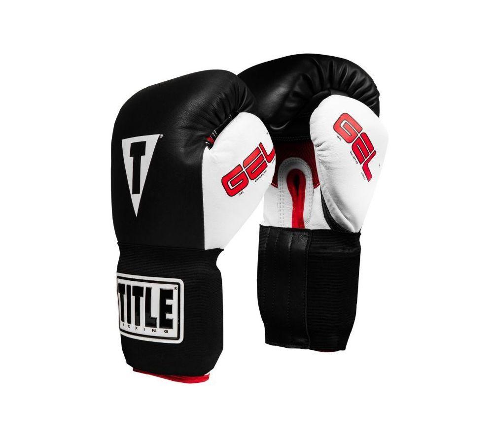Боксерские перчатки Title Boxing Gloves Gel Intense