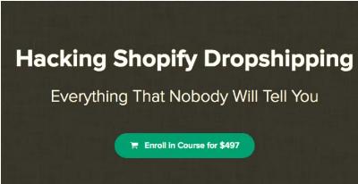Hayden Bowles Hacking Shopify Dropshipping