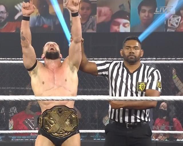 Finn Balor derrota a Pete Dunne NXT TakeOver Vengeance Day