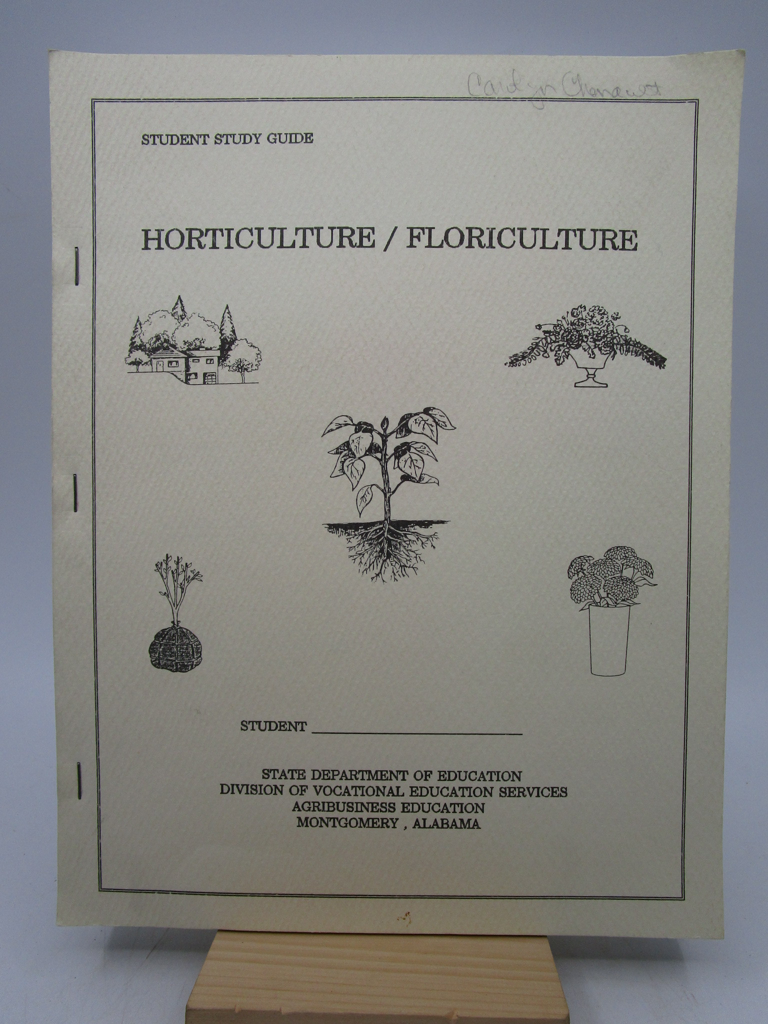 Image for Student Study Guide: Horticulture/Floriculture