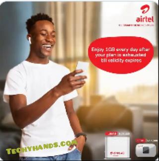 Free 1GB daily on Airtel 4G Mifi